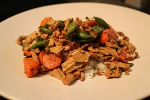 WIRED Chicken-Free Stir Fry  Recipe